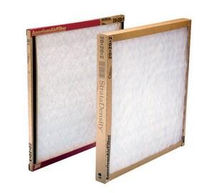 American Air Filter StrataDensity® 30 x 20 x 1 in. Fiberglass Air Filter A220716051