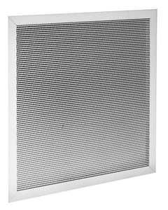 PROSELECT® 24 x 24 in. Commercial T-Bar Lay-In in White 1-way Steel PSPFGFBR