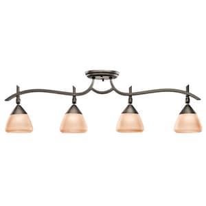 Kichler Lighting Olympia™ 50W 4-Light Flush Mount KK7703