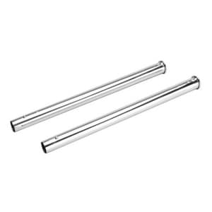 Broan 19 ft. 2-Front Open Wands Set in Polished Chrome NCT132