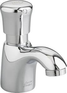 American Standard Pillar Single Handle Metering Bathroom Sink Faucet in Polished Chrome A1340109002