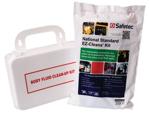 North Safety Products Plastic Body Fluid Clean Up First Aid Kit H553001H5