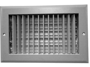 PROSELECT® 20 x 4 in. Residential Ceiling & Sidewall Register in White 1-way Aluminum PSAASW20