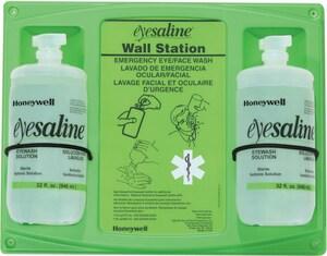 Honeywell ETRUEaline® 32 oz Dual Eyewash Wall Station H320004620000 at Pollardwater
