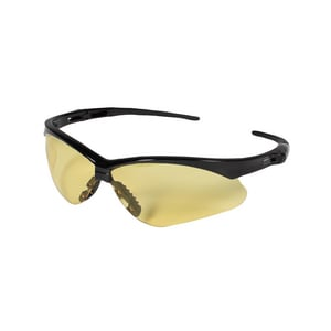 Jackson Safety Nemesis™ Anti-Fog Safety Glasses with Smoke Lens and Black Frame J2247