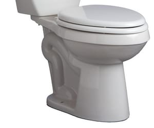 Mirabelle® Bradenton 1.28 gpf Elongated Floor Mount Toilet Bowl in Biscuit MIRBD250ECBS