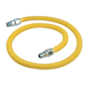 BrassCraft ProCoat® 1/2 MIP x 1/2 MIP Fitting Gas Connector BCSSC44