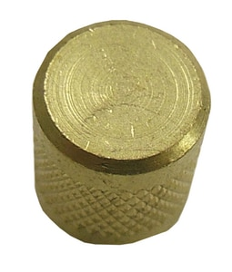 Supco 1/4 in. Flared Quick Seal Brass Cap SSF2245