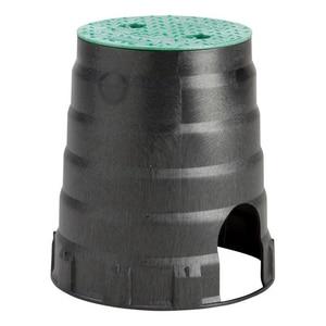 Carson Industries 6 in. Economy Plastic Irrigation Control Valve Valve Box & Cover C07081002