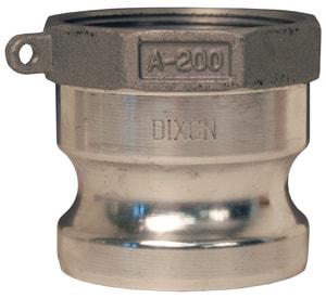Dixon Valve & Coupling Male x FNPT Aluminum Adapter DGAAL at Pollardwater