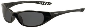 Jackson Safety Hellraiser Safety Glasses with Black Frame & Smoke Mirror Lens JAC25714