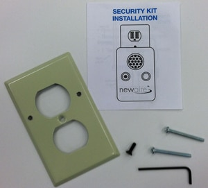 Queenaire Technologies Theft Proof Security Kit QSECKIT