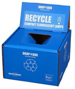 Veolia ES RecyclePak® 9 in. Small CFL Drop Box VSUPPLY253