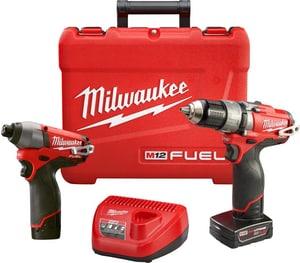 Milwaukee® M12 FUEL™ Cordless 12V 2 Tool Kit M259722