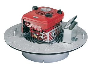 Cherne Air-Loc® Smoke Blower with Smoke Bomb Kit in Black C303550 at Pollardwater