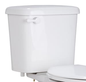 PROFLO® Greenlee 0.8 gpf Toilet Tank in White with 10 in. Rough-In with Left-Hand Trip Lever PF9810WH