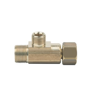 BrassCraft 3/8 x 3/8 x 1/4 in. Compression x OD Tube Reducing Tee BCT2664XP