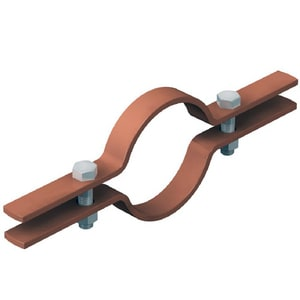 Cooper B-Line 1 in. Tube Riser Clamp Copper Plated N82CPLTG