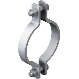 Cooper B-Line 3 in. Pipe Clamp Black N4M