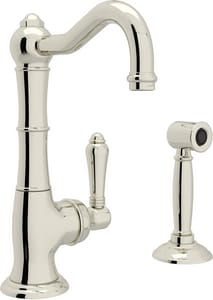 ROHL® Country Kitchen Cinquanta Single Handle Kitchen Faucet ...