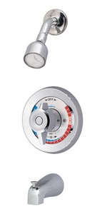 Symmons Industries Temptrol II™ 2.5 gpm Tub and Shower Valve with Stops in Polished Chrome SYMBP562X