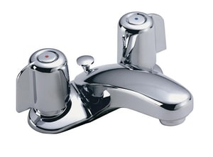 Symmons Industries Symmetrix® 2.2 gpm Lavatory Faucet with Double-Handle in Polished Chrome SYMS2400
