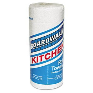Boardwalk 11 x 8 in. 2-Ply Perforated Kitchen Roll Towel in White (Case of 30) BWK6276