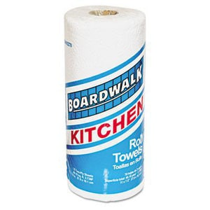 Boardwalk 8 in. 2-Ply Perforated Kitchen Roll Towel in White (Case of 30) BWK6278