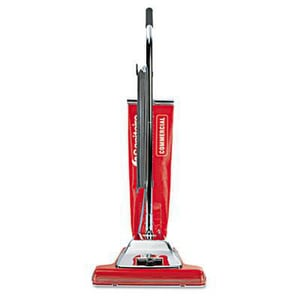 Sanitaire® Quick Kleen® Wide Track Vacuum with Vibra-Groomer in Red E899