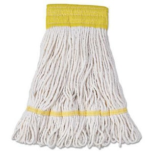 Unisan Heavy Duty Small Super Loop Mop in White UNS501WH