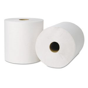 Wausau Paper® EcoSoft® 800 ft. Hard Roll Towel in Natural White (Case of 6) W45900