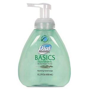 Dial® 15.2 oz. Basics Hypoallergenic Foaming Hand Soap Pump D98609