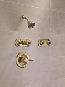 Delta Faucet Lahara® Monitor 17 Series Shower Only Trim in Champagne Bronze (Trim Only) DT17238CZ