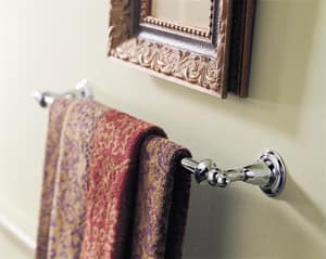 Delta Faucet Victorian® 18 in. Towel Bar in Polished Brass D75018PB