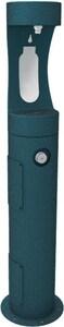 Elkay 64 in. Pedestal Bottle Filling Station with Freeze Resistance in Evergreen ELK4400BFFRK