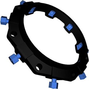 EBAA Iron Megalug® 3 in. Ductile Iron Mechanical Joint Restraint E1100