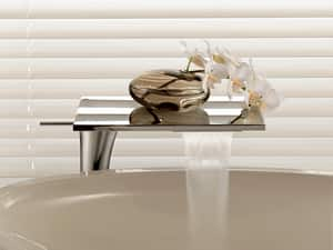 AXOR Massaud Single Handle Vessel Filler Bathroom Sink Faucet in Polished Chrome AX18020001