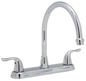 PROFLO® Two Handle Kitchen Faucet in Polished Chrome PFXC6880LSCP