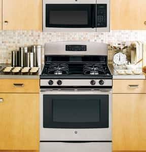General Electric Appliances 1.6 CF Over-the-Range Microwave in Silver Metallic GJNM3161MFSA