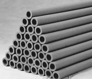 Nomaco Insulation Econotherm® 5/8 x 1/2 in. Wall Pipe Insulation Semi Split N6IE048058
