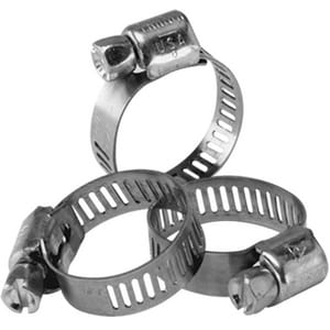 Motors & Armatures Ideal 52 Series 7/32 - 5/8 in. Stainless Steel Band with Carbon Steel Housing Hose Clamp MAR79330