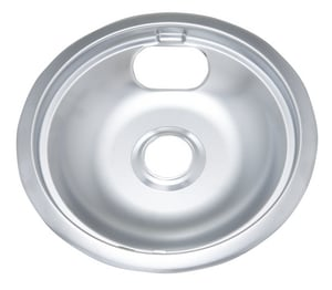 PROSELECT® 9-3/4 in. Drip Pan 6 Pack for Whirlpool Range in Polished Chrome PSDPPRW8