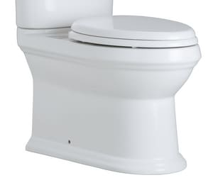 Mirabelle® Boca Raton Elongated Toilet Bowl in White MIRBR240ASWH