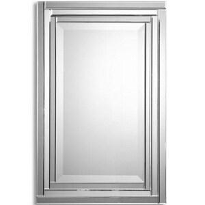 Uttermost Company 34 x 22 in. Pipe Olet Mirror U08027B