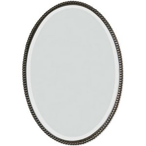Uttermost Company 32 x 22 in. Beveled Oval Mirror in Oil Rubbed Bronze U01101B