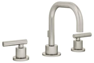 Symmons Industries Dia™ Two Handle Centerset Bathroom Sink Faucet in Satin Nickel SYMSLW3512STN15