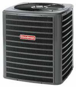 Goodman 2 Ton 14 SEER 1/12 hp Single-Stage R-410A Split-System Air Conditioner GSSX140241