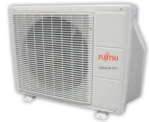 Fujitsu Halcyon® 30 MBH Wall Mount Outdoor 2.5 Tons Mini-Split Single-Zone FAOU30RLXB