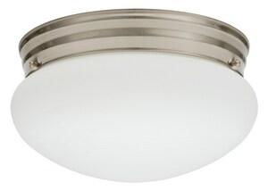 Lithonia Lighting 20W 1400 Lumens Ceiling Light in Brushed Nickel LFMMUSL914830BNPM4