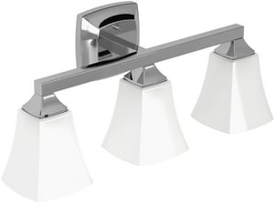Moen Voss™ 3-Globe Light Fixture in Polished Chrome MYB5163CH